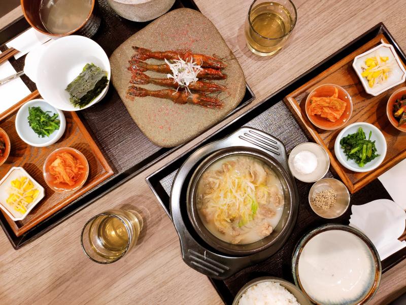 食レポ!韓国家庭料理 ソウルオモニのランチ