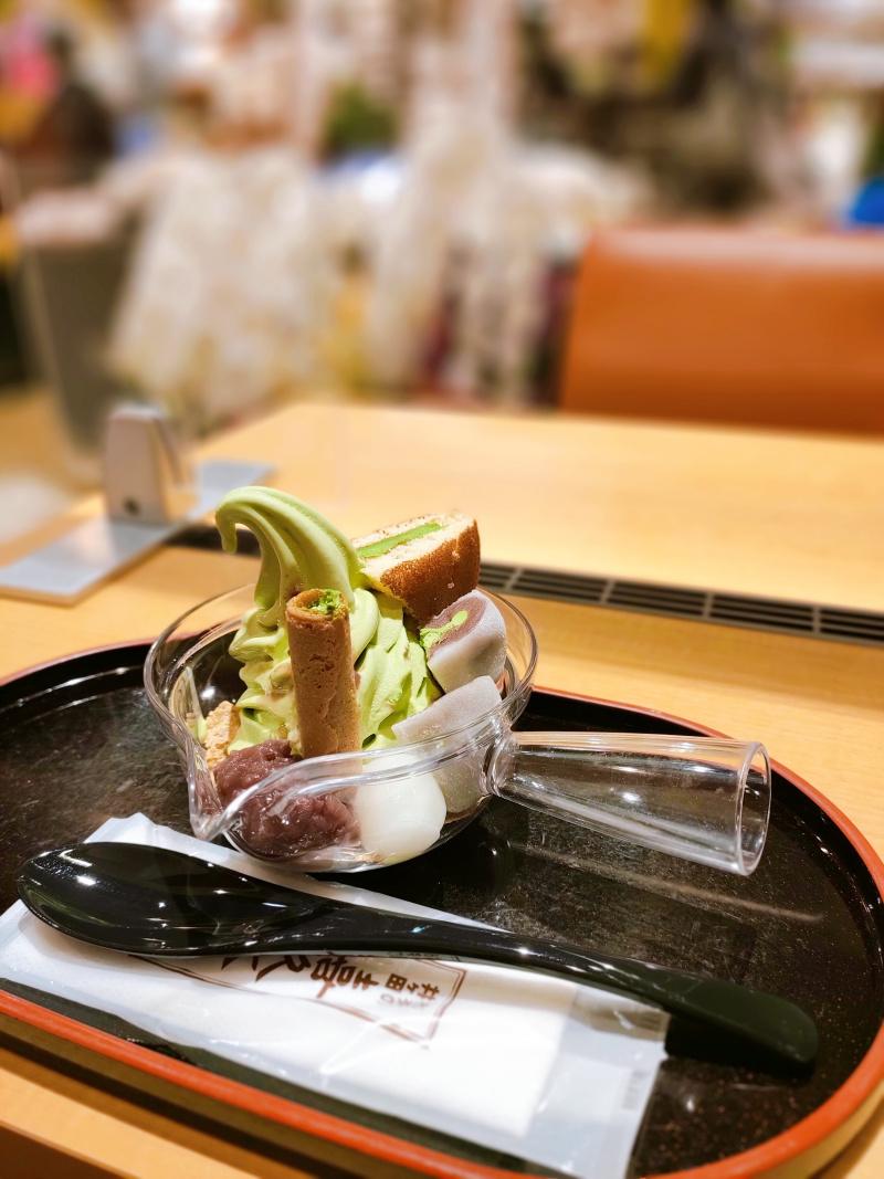 お茶の井ヶ田 仙台中央本店の「急須パフェ」