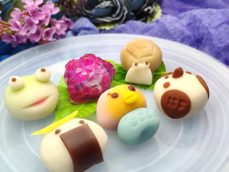 熊谷屋の上生菓子