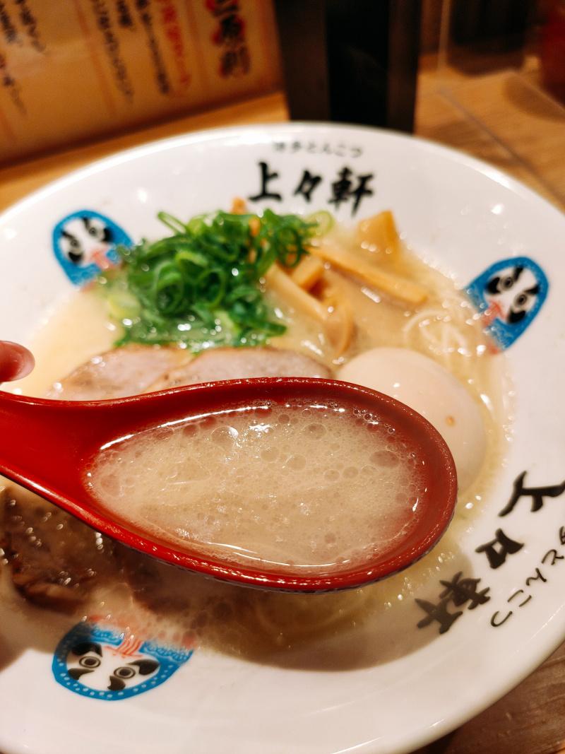 臭みのない旨味が凝縮したスープ