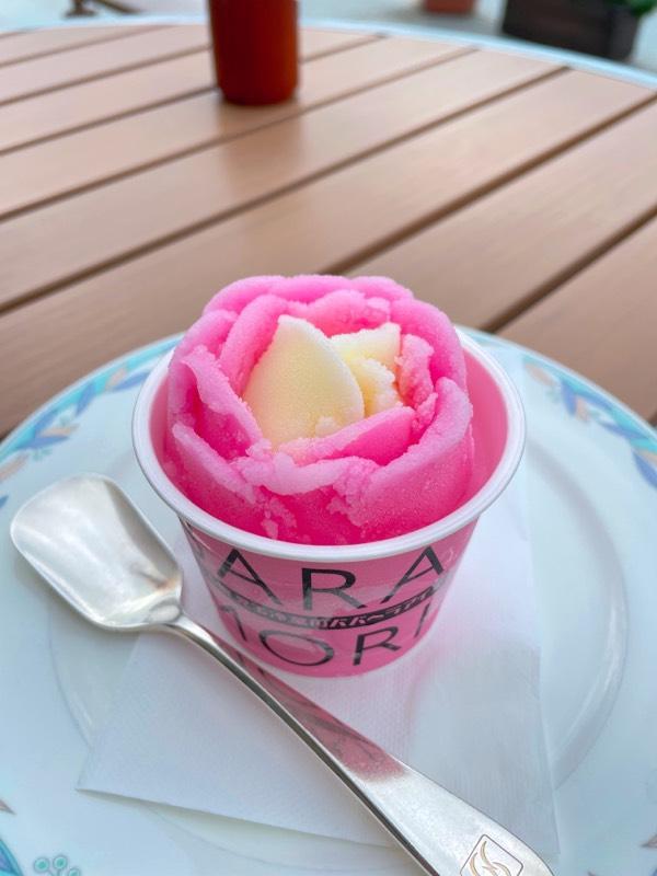 玉児冷菓の元祖ババヘラアイス