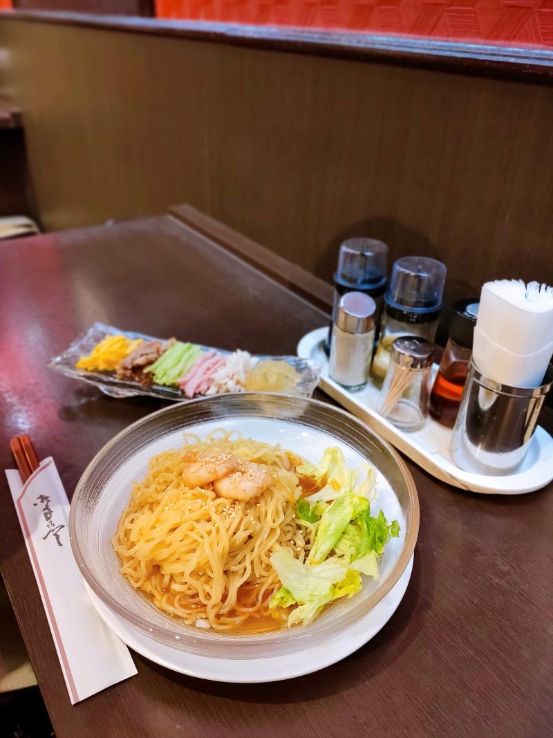 涼拌麺・元祖冷し中華醤油だれ